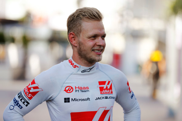 Baku City Circuit, Baku, Azerbaijan. Saturday 24 June 2017. Kevin Magnussen, Haas F1. World Copyright: Steven Tee/LAT Images ref: Digital Image _R3I3396