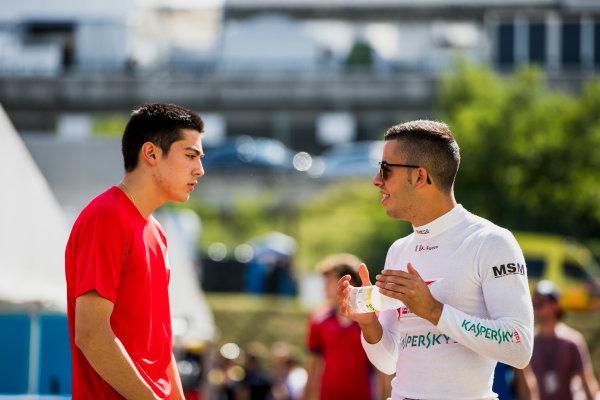 2017 FIA Formula 2 Round 7. Hungaroring, Budapest, Hungary. Friday 28 July 2017. Antonio Fuoco (ITA, PREMA Racing).  Photo: Zak Mauger/FIA Formula 2. ref: Digital Image _54I1512