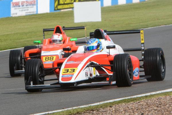 2016 MSA Formula Donington Park, 16th-17th April 2016, Ross Martin (GBR) Fortec MSA Formula  World copyright. Jakob Ebrey/LAT Photographic