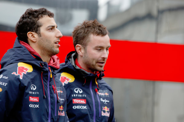 Spa-Francorchamps, Spa, Belgium. Saturday 23 August 2014. Daniel Ricciardo, Red Bull Racing. World Copyright: Charles Coates/LAT Photographic. ref: Digital Image _J5R1185
