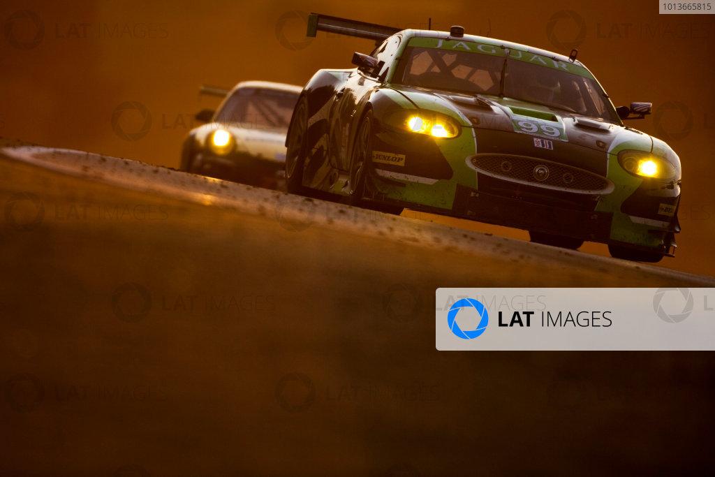 American Le Mans Series. Laguna Seca, Monterey, California. 15th - 17th September 2011. Bruno Junqueira / Kenny Wilden, Jaguar RSR, Jaguar XKR. Action. Photo: Drew Gibson/LAT Photographic. ref: Digital Image _Y2Z7090