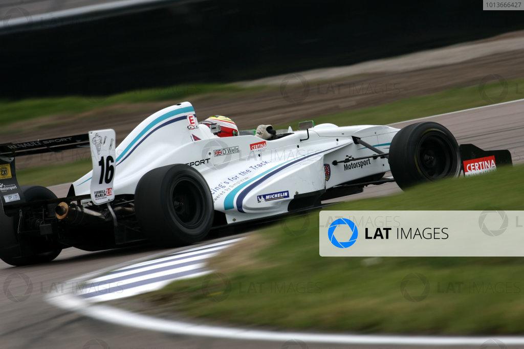 Rockingham, Northamptonshire. 17th - 18th September 2011.Dan Wells (GBR) ATech Reid Formula Renault.World Copyright: Ebrey/LAT Photographic.