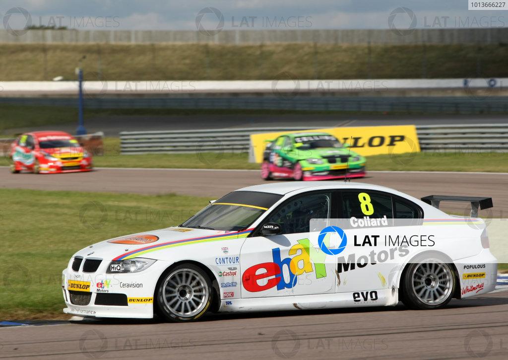Rockingham, Northamptonshire. 17th - 18th September 2011.Rob Collard (GBR) West Surrey Racing BMW 320SI E90.World Copyright: Ebrey/LAT Photographic.