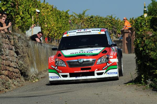 Round 11-Rallye de France. 29/9-02/10 2011.Eyvind Brynildsen, Skoda S2000, Action.Worldwide Copyright: McKlein/LAT