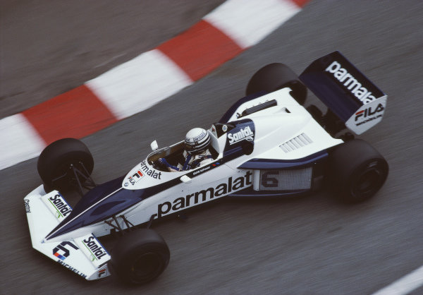 Riccardo Patrese, Brabham BT52 BMW.