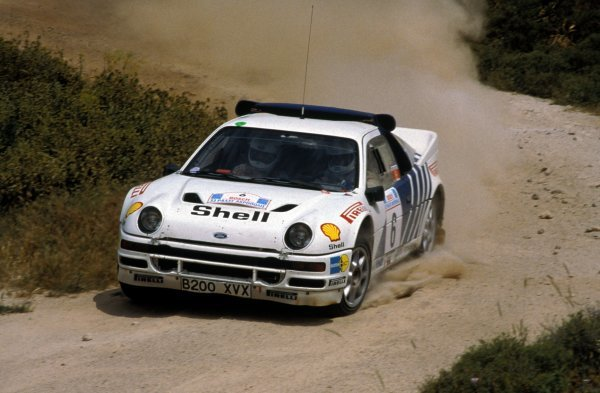 Kalle Grundel (SWE) / Benny Melander (SWE) Ford RS200 retired from the rally on SS17.