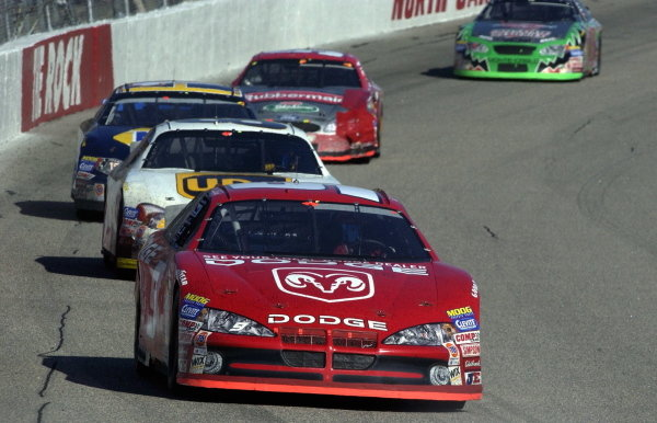 Bill Elliott (USA), Dodge Dealers, scored his 44th career win at Rockingham.   