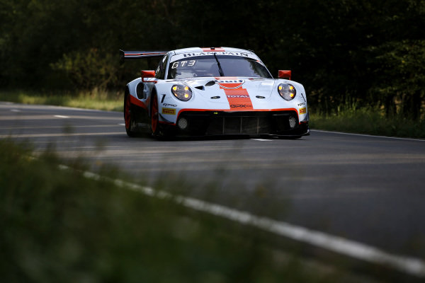 #20 GPX Racing Porsche 911 GT3 R: Kevin Estre, Michael Christensen, Richard Lietz.