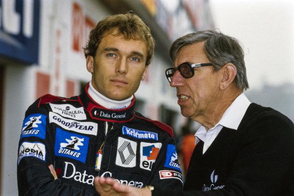 Philippe Streiff and Ken Tyrrell.