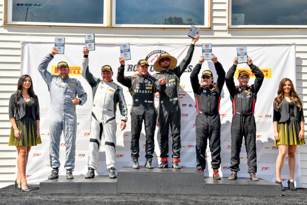 #91 Audi R8 LMS GT4 of Jeff Burton Vesko Kozarov  Rose Cup Races, Portland OR  Frank Gannett, and Drew Staveley  Michael McAleenan, and Jerold Lowe