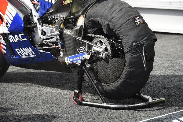 Jack Miller, Pramac Racing's rear wheel