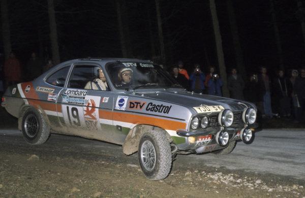 Pentti Airikkala / John Davenport, Vauxhall Magnum.