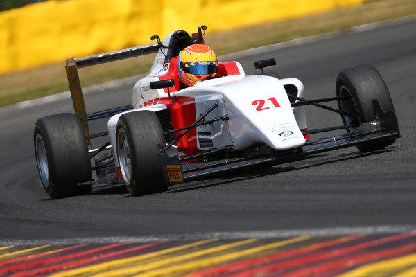 Joshua Mason Hillspeed British F3