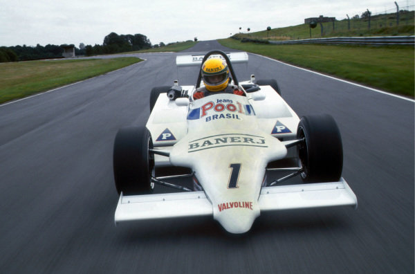 Ayrton Senna (BRA) West Surrey Racing. British Formula 3 Championship, Oulton Park, England, 1983.