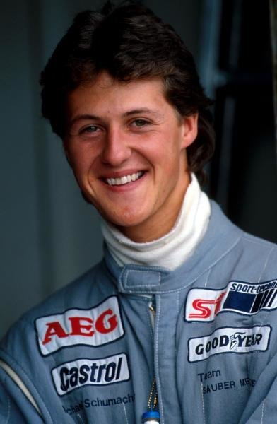 Michael Schumacher (GER) Mercedes was disqualified during qualifying for a technical infringement. Sportscar World Championship, Silverstone, England, 20 May 1990.