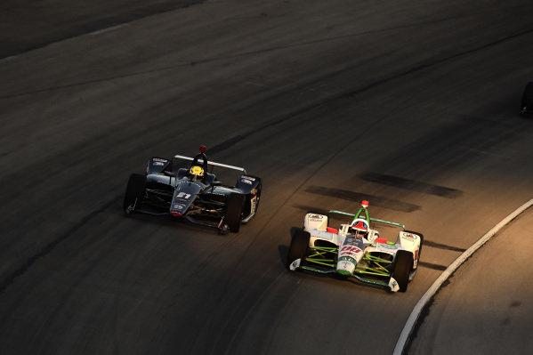 Colton Herta, Harding Steinbrenner Racing Honda, Spencer Pigot, Ed Carpenter Racing Chevrolet