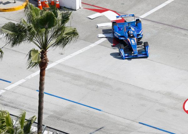 2014/2015 FIA Formula E Championship. Long Beach ePrix, Long Beach, California, United States of America. Friday 3 April 2015 Antonio Felix Da Costa (POR)/Amlin Aguri - Spark-Renault SRT_01E  Photo: Jed Leicester/LAT/Formula E ref: Digital Image _JL20225
