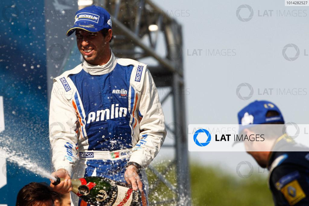2014 Formula E  Buenos Aires e-Prix, Argentina Saturday 10 January 2015. Antonio Felix Da Costa (POR)/Amlin Aguri - Spark-Renault SRT_01E  Photo: Sam Bloxham/LAT/Formula E ref: Digital Image _G7C8188