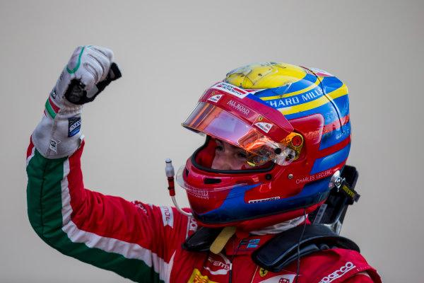 2017 FIA Formula 2 Round 11. Yas Marina Circuit, Abu Dhabi, United Arab Emirates. Sunday 26 November 2017. Charles Leclerc (MCO, PREMA Racing).  Photo: Zak Mauger/FIA Formula 2. ref: Digital Image _X0W0014