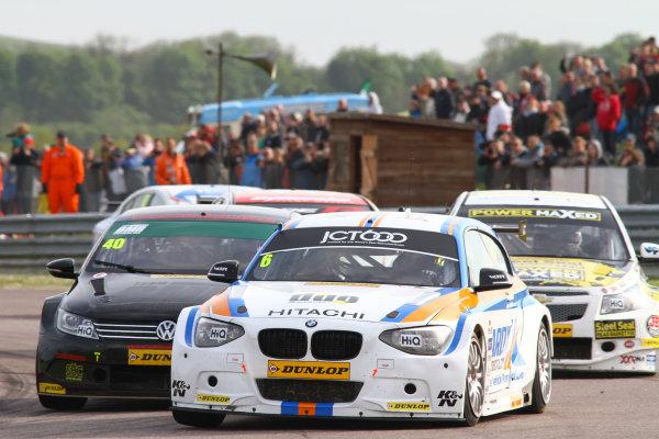 2015 British Touring Car Championship, Thruxton, 9th and 10th May 2015, Rob Collard (GBR) WSR BMW 125i M Sport World copyright. Ebrey/LAT Photographic