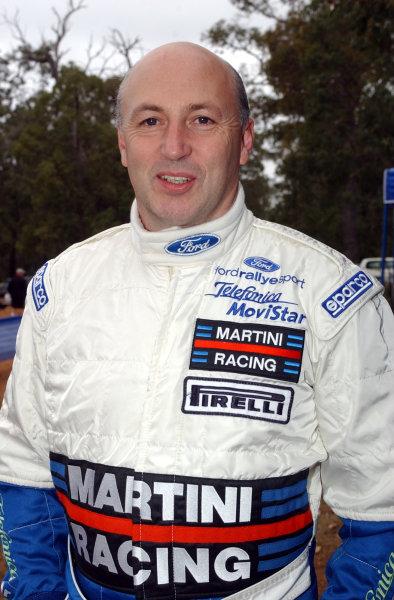 2002 World Rally Championship.Telstra Rally Australia, Perth. October 31st-November 3rd.Derek Ringer.Photo: Ralph Hardwick/LAT