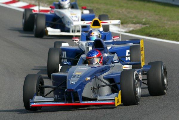 Adrian Sutil (GER), HBR Motorsport GmbH.  Formula BMW ADAC Championship, Rd17, Zandvoort, Holland. 20 September 2003.  DIGITAL IMAGE