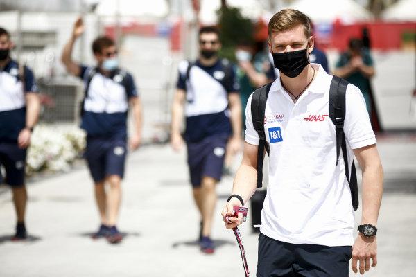 Mick Schumacher, Haas F1 arrives