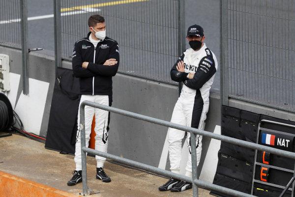 Edoardo Mortara (CHE), Venturi Racing, and Norman Nato (FRA), Venturi Racing