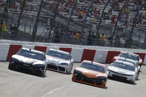 #18: Daniel Hemric, Joe Gibbs Racing, Toyota Supra Poppy Bank, #54: Ty Gibbs, Joe Gibbs Racing, Toyota Supra Joe Gibbs Racing