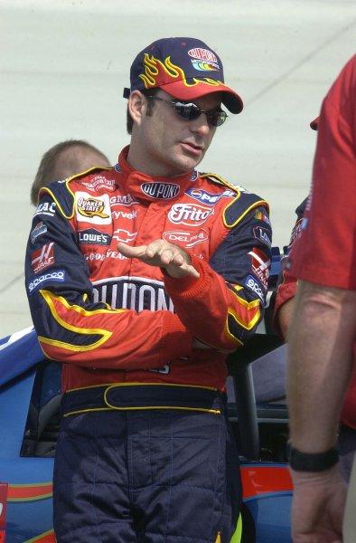 2002 NASCAR,Dover Downs,Sept 20-22, 20022002 NASCAR, Dover,Del . USA -Jeff Gordon starts 24th on sunday,Copyright-Robt LeSieur2002LAT Photographic