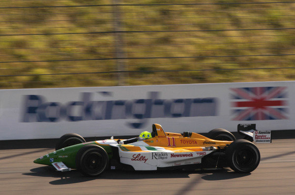 2002 Rockingham CART, Rockingham Speedway, England14 September, 2002Christian Fittipaldi-2002, Michael L. Levitt, USALAT Photographic