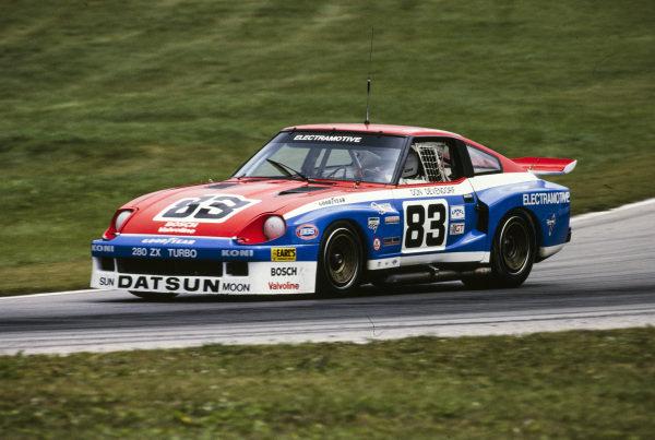 Don Devendorf / Tony Adamowicz, Electramotive Racing, Datsun 280ZX.