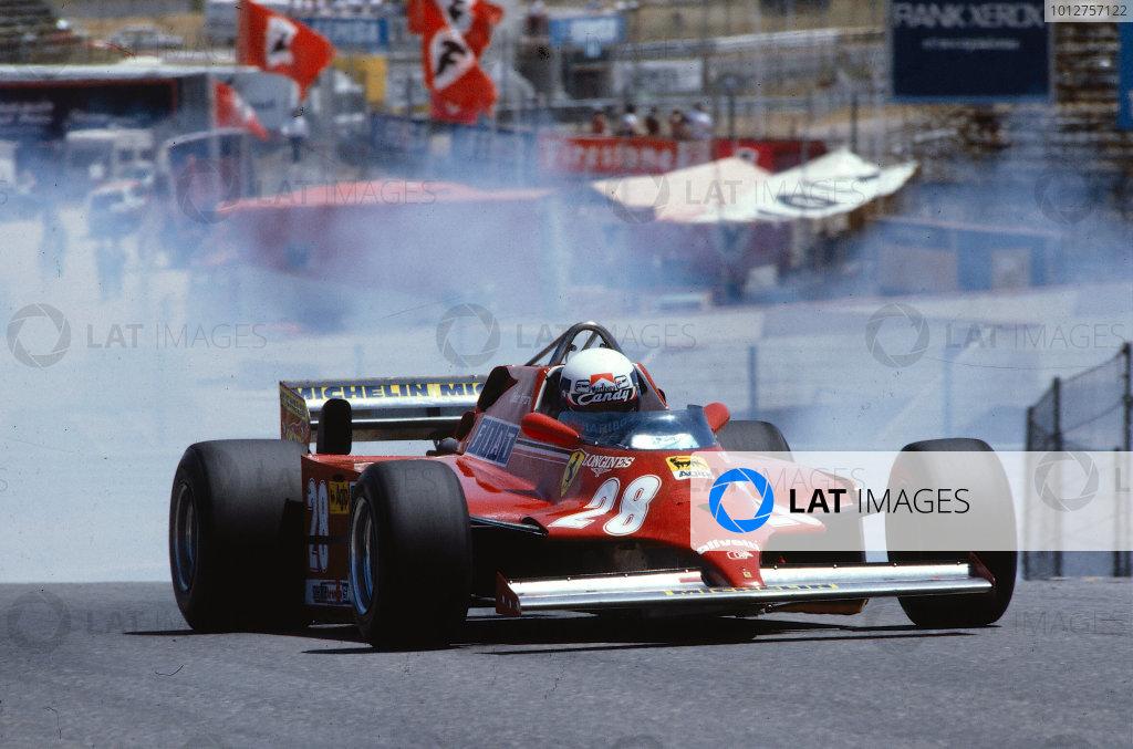 1981 Spanish Grand Prix.