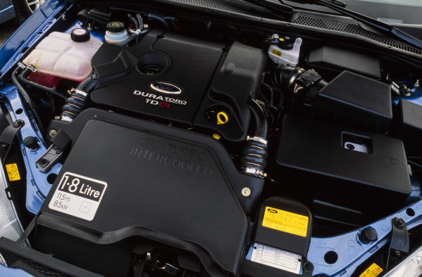 Ford Focus TDCi Ghia LHD.