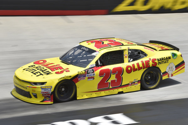 #23: Chase Elliott, GMS Racing, Chevrolet Camaro Ollie's Bargain Outlet