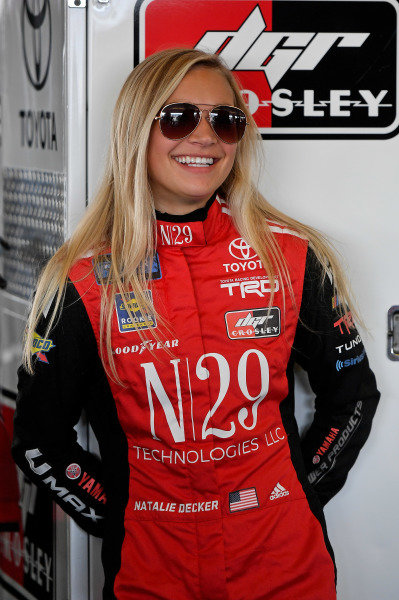#54: Natalie Decker, DGR-Crosley, Toyota Tundra N29 Technologies LLC