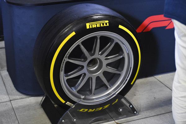 New F2 tyres