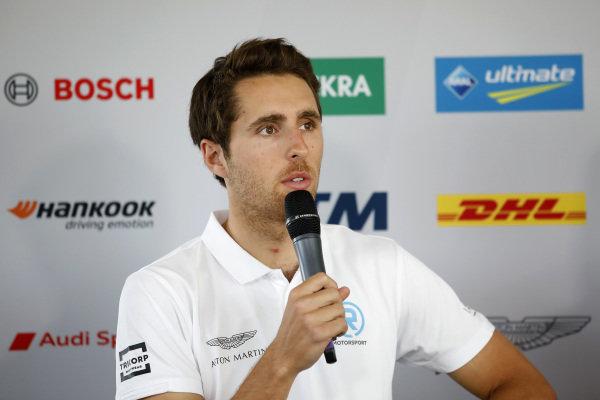 Press Conference, Daniel Juncadella, R-Motorsport.