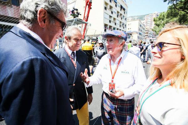 Monte Carlo, Monaco. Sunday 28 May 2017. Sir Jackie Stewart. World Copyright: Charles Coates/LAT Images ref: Digital Image DJ5R1872