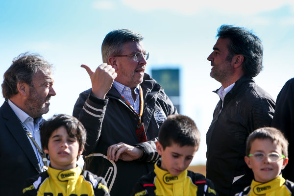 Circuit de Catalunya, Barcelona, Spain. Thursday 11 May 2017. Ross Brawn, Managing Director of Motorsports, FOM.  World Copyright: Dom Romney/LAT Images ref: Digital Image GT2R9736