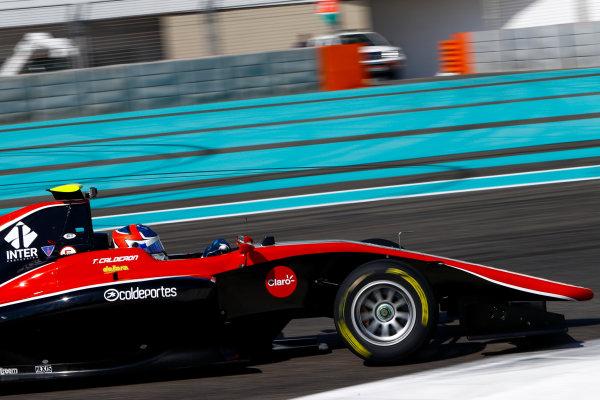 2017 GP3 Series Test 5. Yas Marina Circuit, Abu Dhabi, United Arab Emirates. Thursday 30 November 2017. Tatiana Calderon (COL, ART Grand Prix).  Photo: Joe Portlock/GP3 Series Media Service. ref: Digital Image _R3I7700