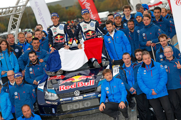 2015 World Rally Championship, Round 13, Rally of Wales GB, 12th - 15th November, 2015 Sebastien Ogier, Julien Ingrassia, VW, winner  Worldwide Copyright: McKlein/LAT