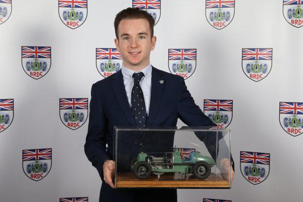 2015 British Racing Drivers Club Awards Grand Connaught Rooms, London Monday 7th December 2015 Charlie Robertson. World Copyright: Jakob Ebrey/LAT Photographic ref: Digital Image Robertson-01