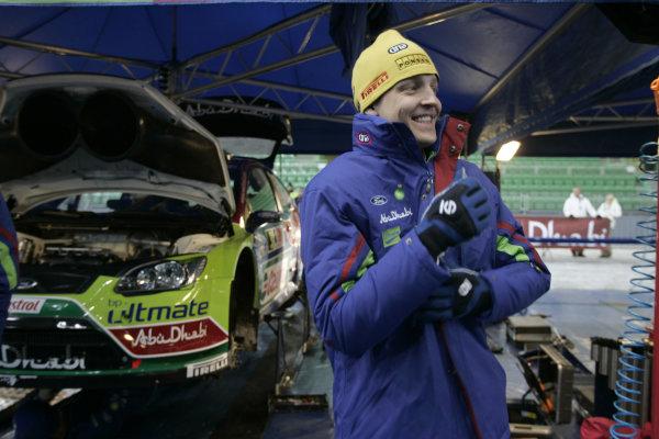 Round 02Rally Norway 12-15 February 2009Mikko Hirvonen, Portrait, Ford.Worldwide Copyright: McKlein/LAT