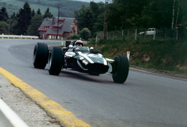 Spa-Francorchamps, Belgium. 9 June 1968. Rd 4.