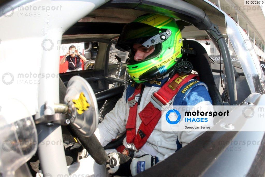 Marcel Tiemann (GER) Continental Circus. Speedcar Series 2008-09, Rd1, Dubai Autodrome, Dubai, United Arab Emirates, 5 December 2008.