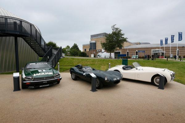 Jaguar Racing Official Formula E Launch Jaguar Heritage Collections Centre, Gaydon, UK Thursday 8 September 2016 . World Copyright: Andrew Ferraro/LAT Photographic ref: Digital Image _14P4338
