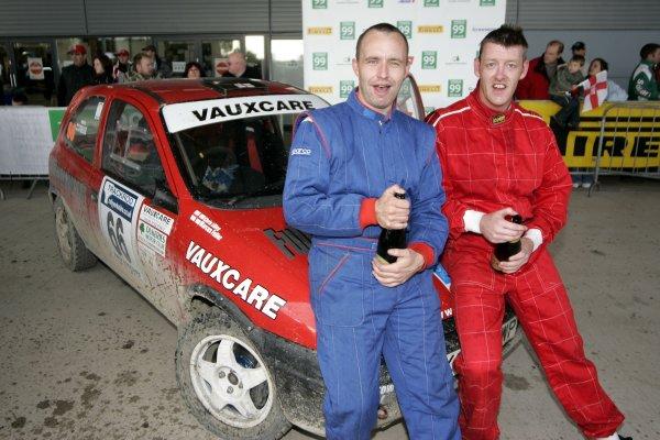 2006 British Rally ChampionshipTrackrod Rally, Yorkshire.7th October 2006Marcus Fuller and Chris LilleyWorld Copyright - Ebrey/LAT Photographic