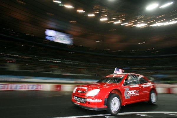 2006 Race of Champions Stade de France, Paris, France. 16th December 2006 Travis Pastrana, Team USA, Citroen WRC, action. World Copyright: DPPI/LAT Photographic ref: Digital Image Only