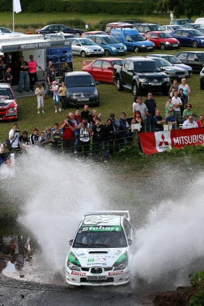 Mark HigginsJim Clark Rally2006 British Rally ChampionshipKelso, ScotlandWorldwide copyright: Ebrey/LAT Photographic